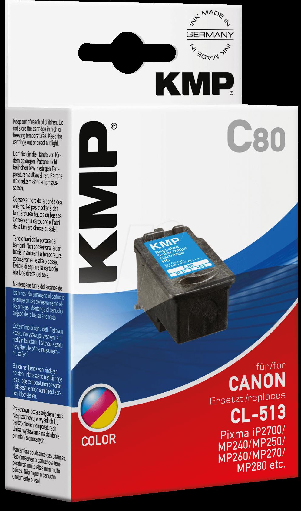 KMP 1512,4530 - Tinte - Canon - 3-farbig - CL-513 - refill