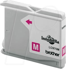 TINTE LC970M - Tinte - Brother - magenta - LC970 - original