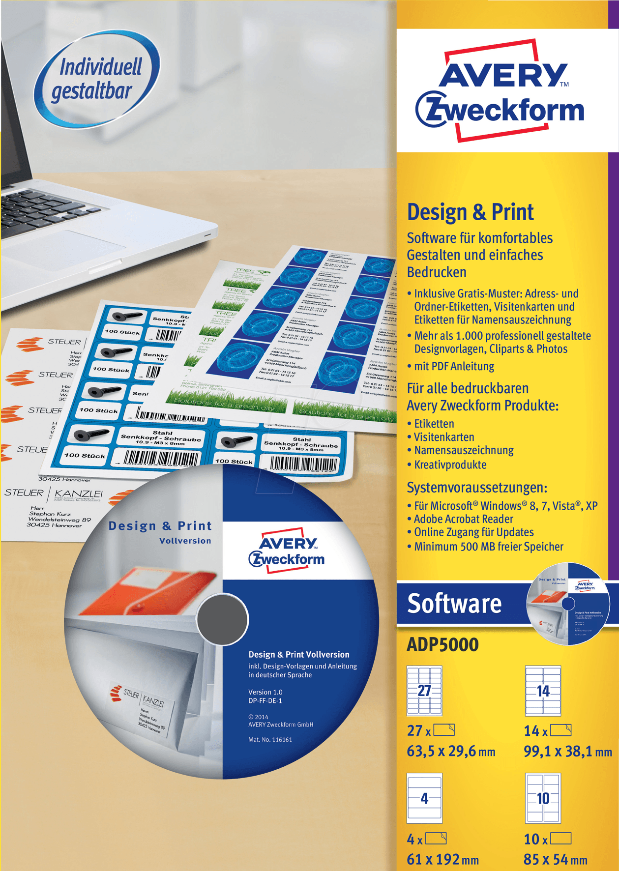 Design Pro 50 Design And Printing Software At Reichelt Elektronik regarding Amazing clipart for avery design pro for your inspiration