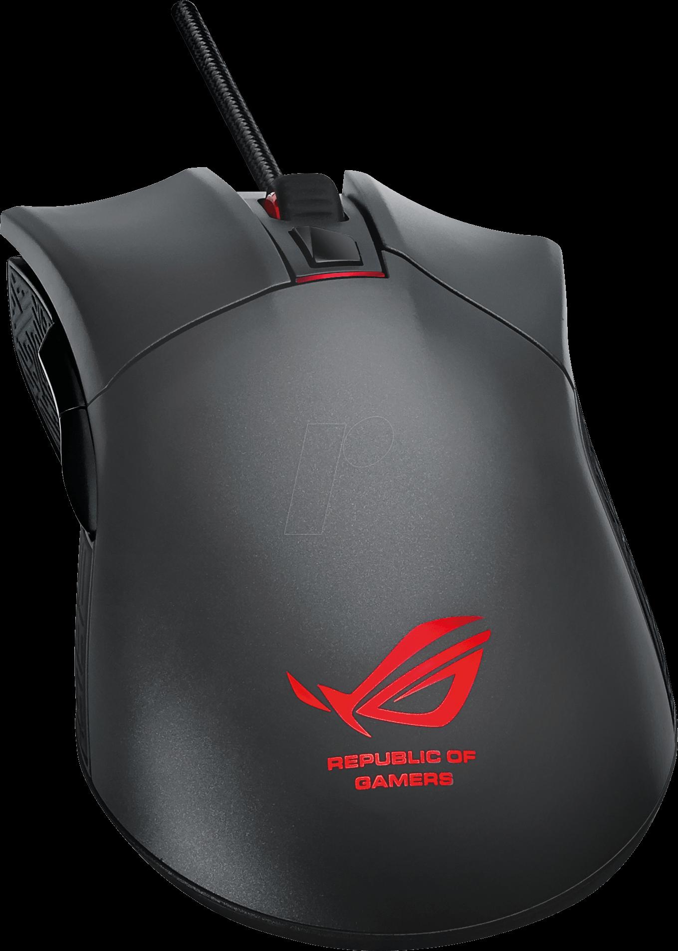 ASUS 90MP0081 - Maus (Mouse), Kabel, Gaming, schwarz