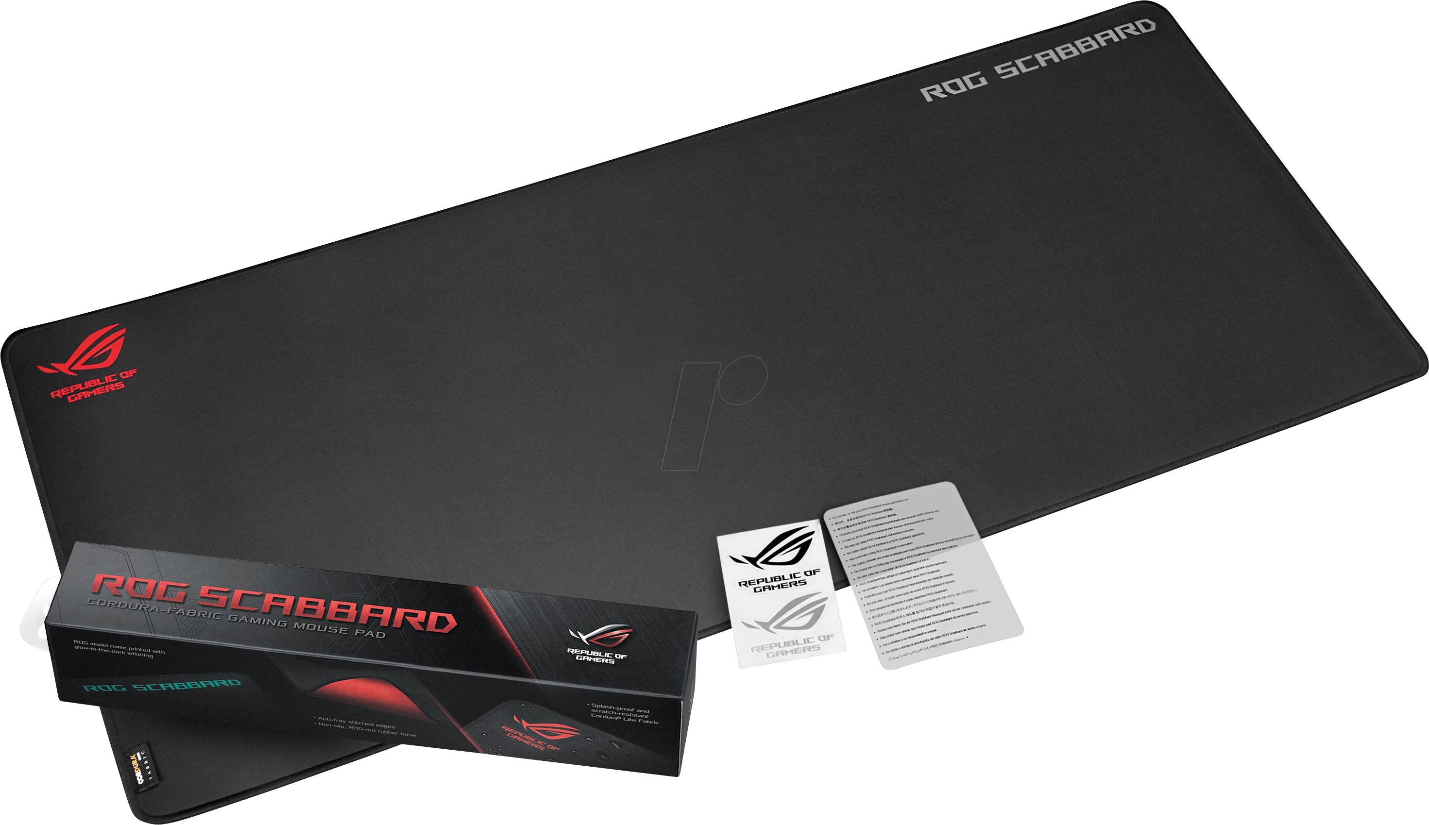 ASUS 90MP00S0: Gaming mouse pad, Scabbard at reichelt elektronik
