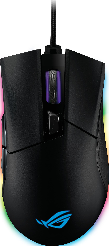 ASUS 90MP00U1 Maus Mouse , Kabel, USB, Gaming