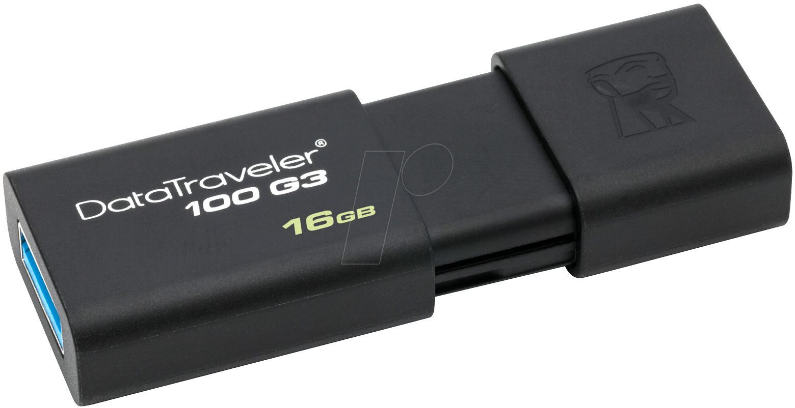 USB 3.0 Kingston DT100G3 16GB