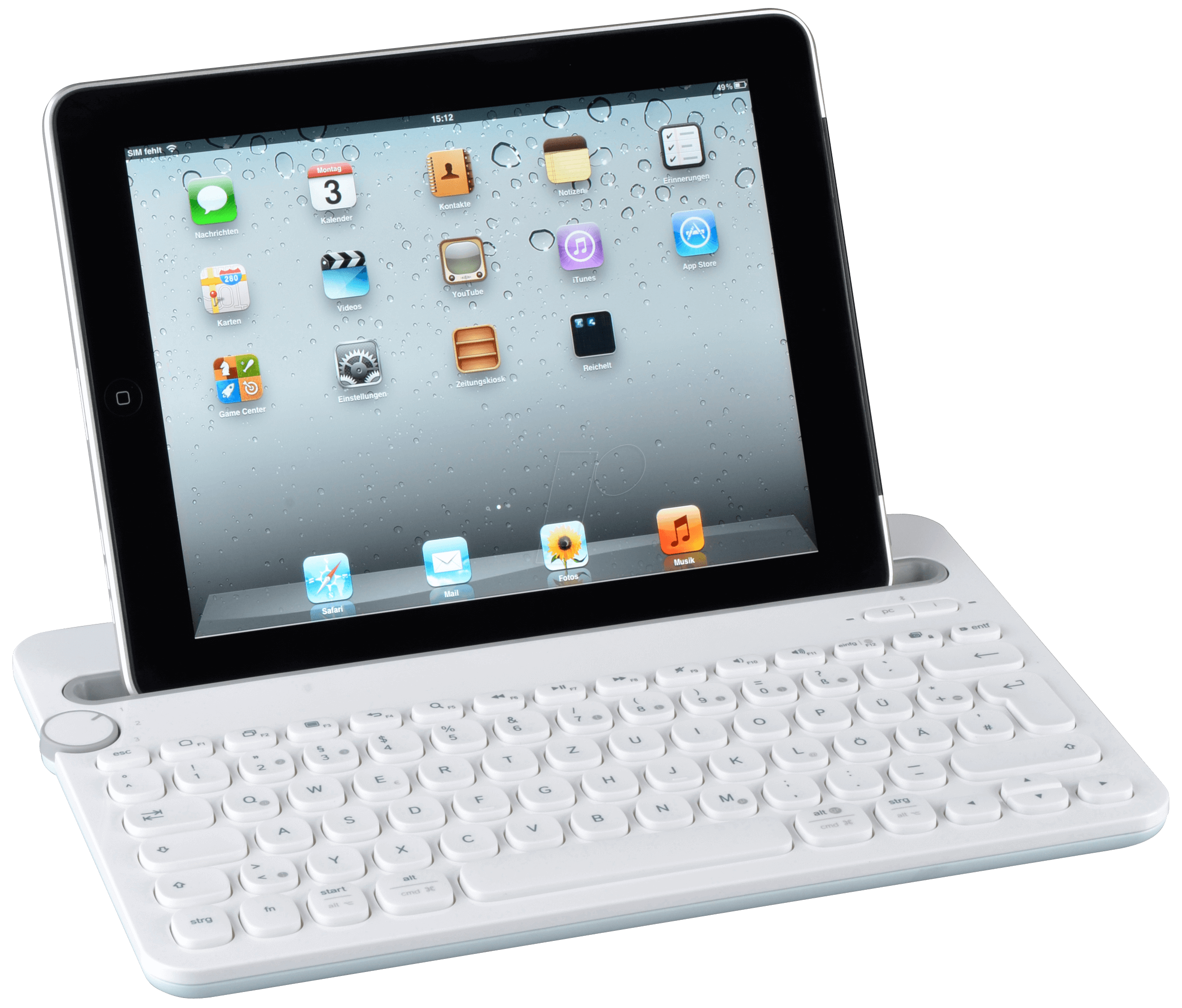 Bluetooth Keyboard Apple Android: LOGITECH K480 WS: Bluetooth Multi-device Keyboard Win