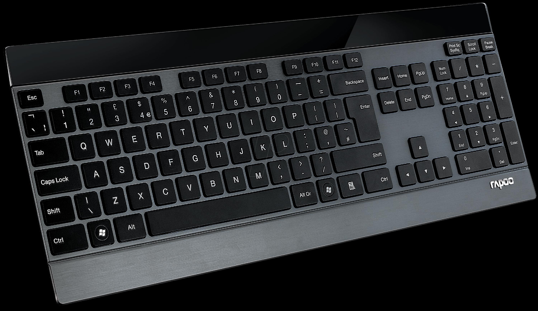 E9270P SW - Funk-Tastatur, schwarz
