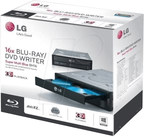 LG BH16NS55 RT - Blu-ray burner SATA — retail version