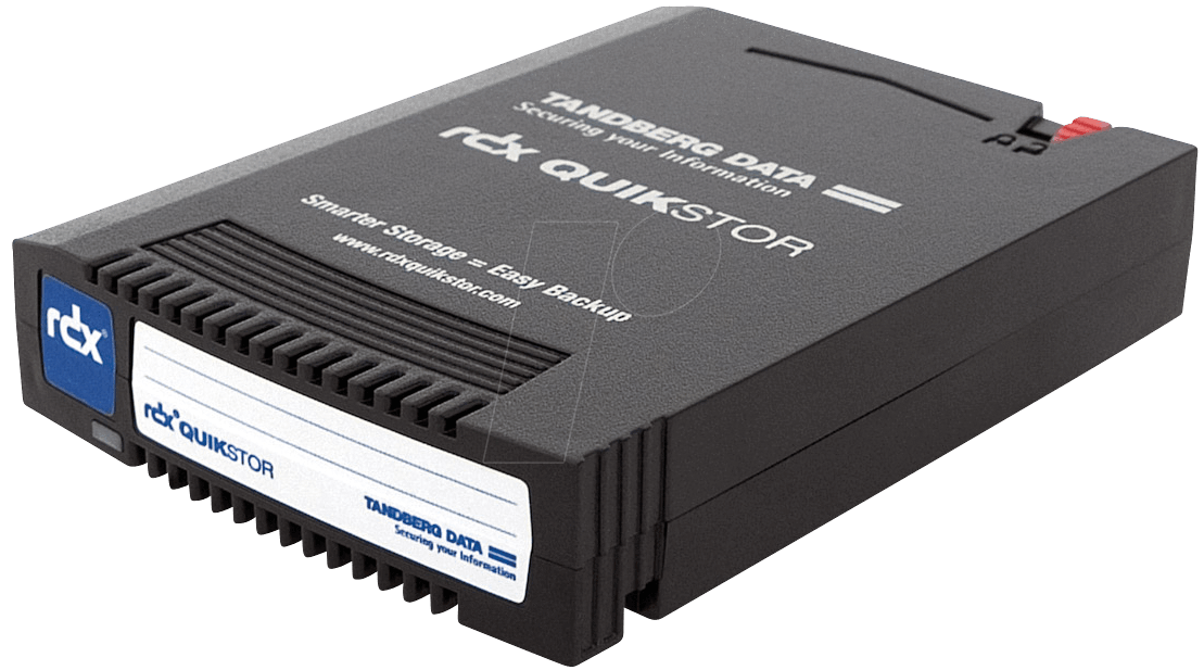 TANDBERG 8586-01 - Tandberg RDX QuikStor 1000 GB Cartridge