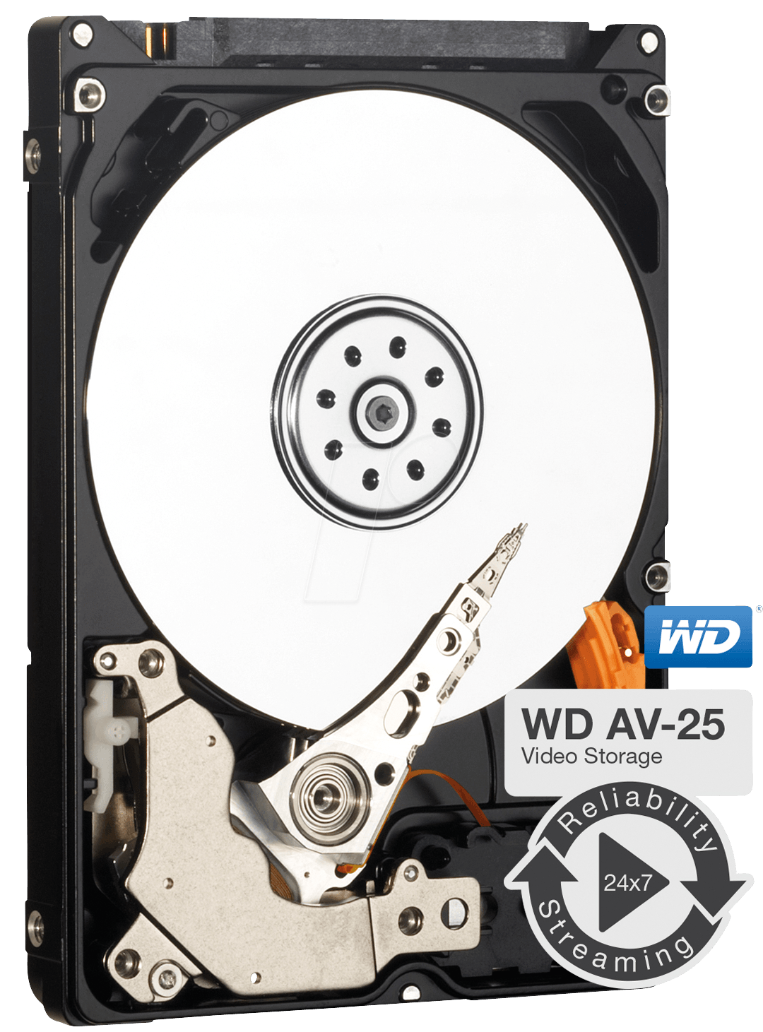 WD10JUCT - 2,5´´ HDD 1TB WD AV - Video