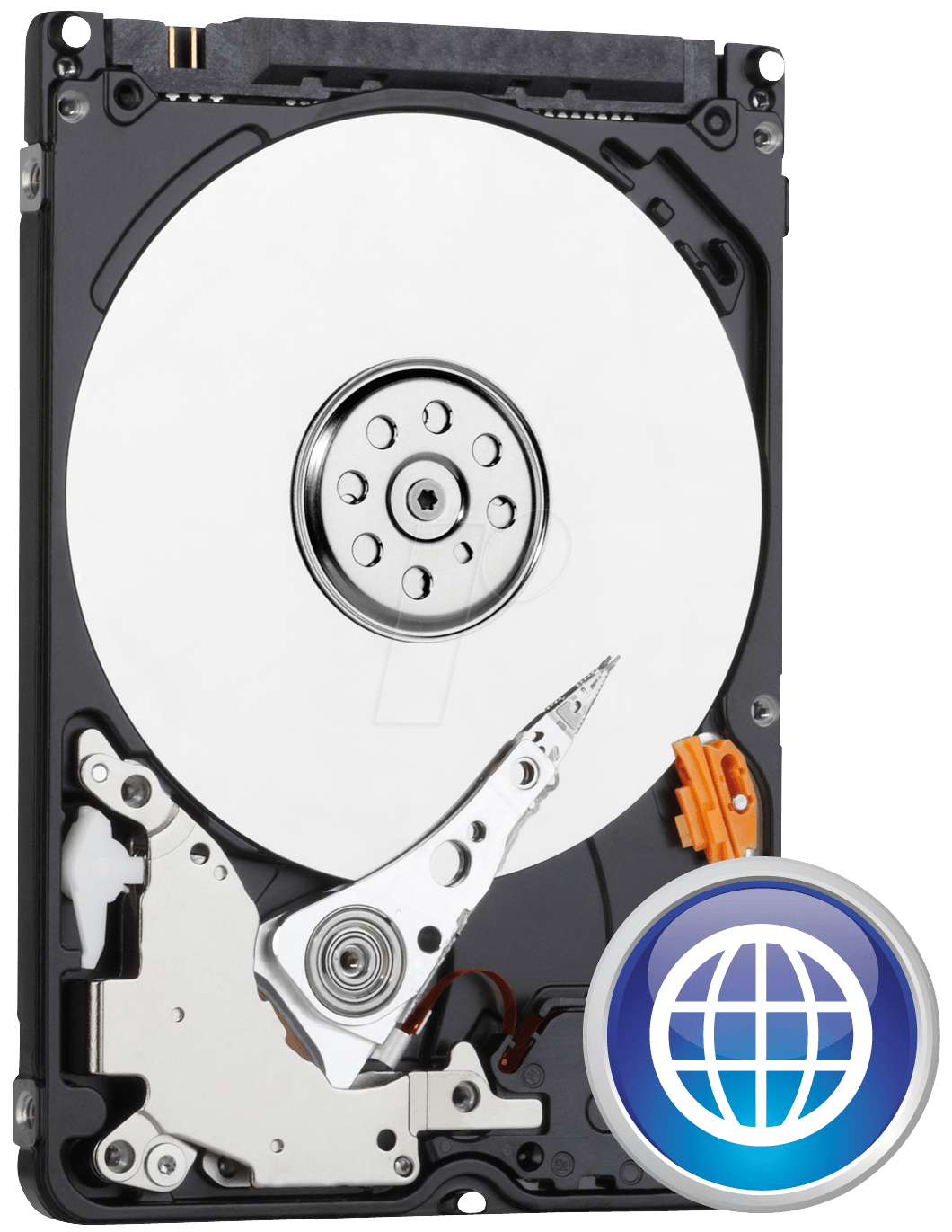 WESTERN DIGITAL WD3200LPVX - Notebook-Festplatte, 320 GB, WD Blue