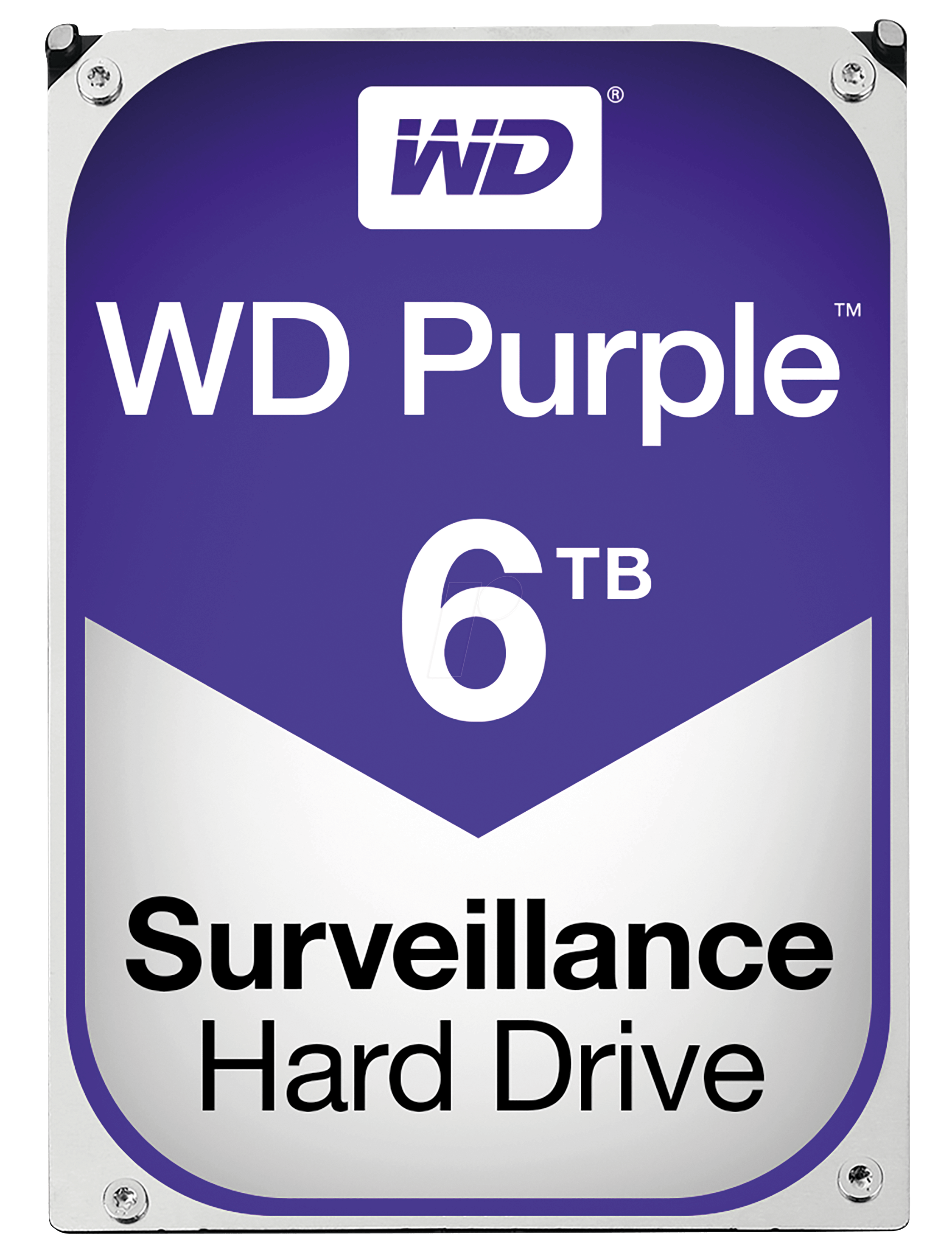 WD60PURZ - 6TB Festplatte WD Purple - Video