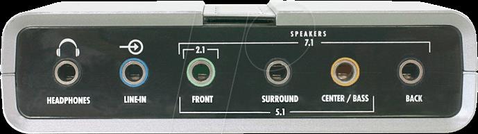 DELOCK USB SOUND ADAPTER 7.1 DESCARGAR DRIVER