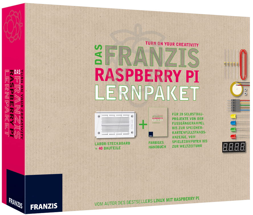 IS 3-6456-5245-2 - Raspberry Pi - Das Franzis L...