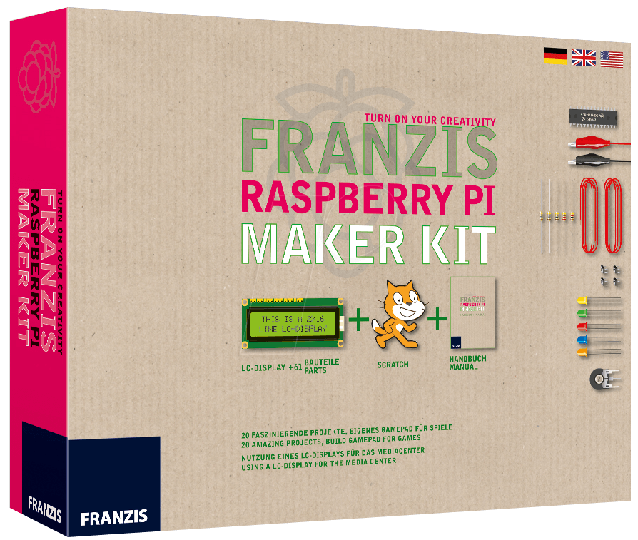 IS 3-6456-5269-8 - Raspberry Pi - Das Franzis M...