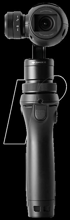 DJI OM160 SW - OSMO, 4k Videokamera mit Handheld-Gimbal