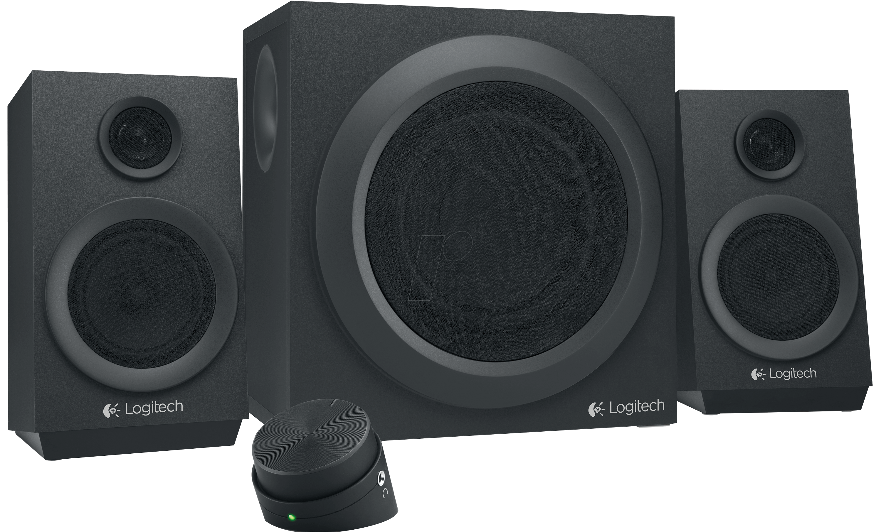 Logitech Z333 Logitech 2 1 Speaker System Black At