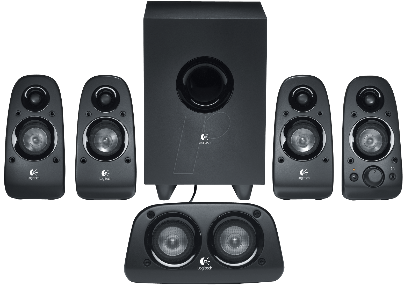 LOGITECH Z506: LOGITECH Z506 5.1 surround speaker set at ...