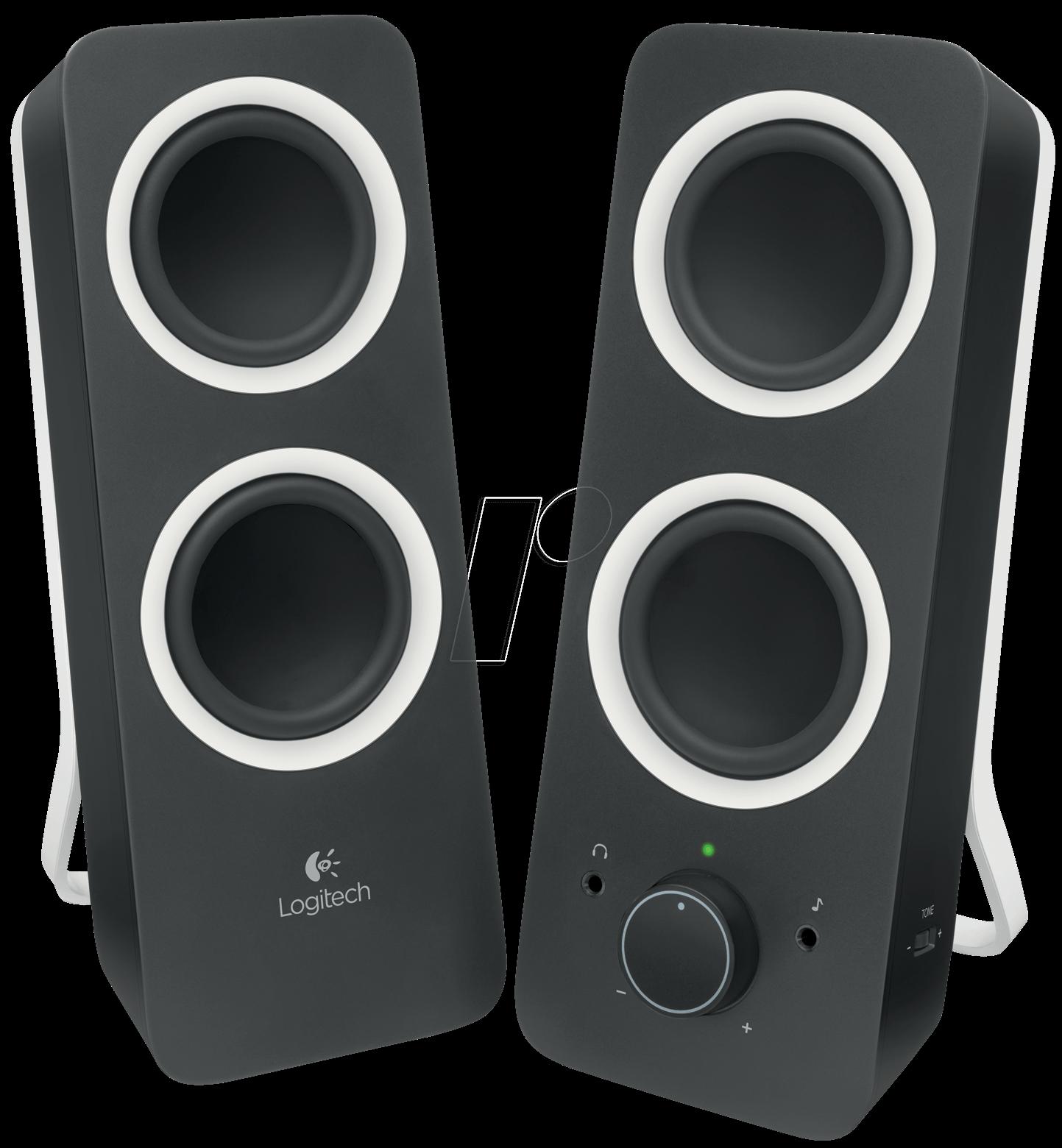Logitech Z200 Logitech Stereo Speaker System At Reichelt