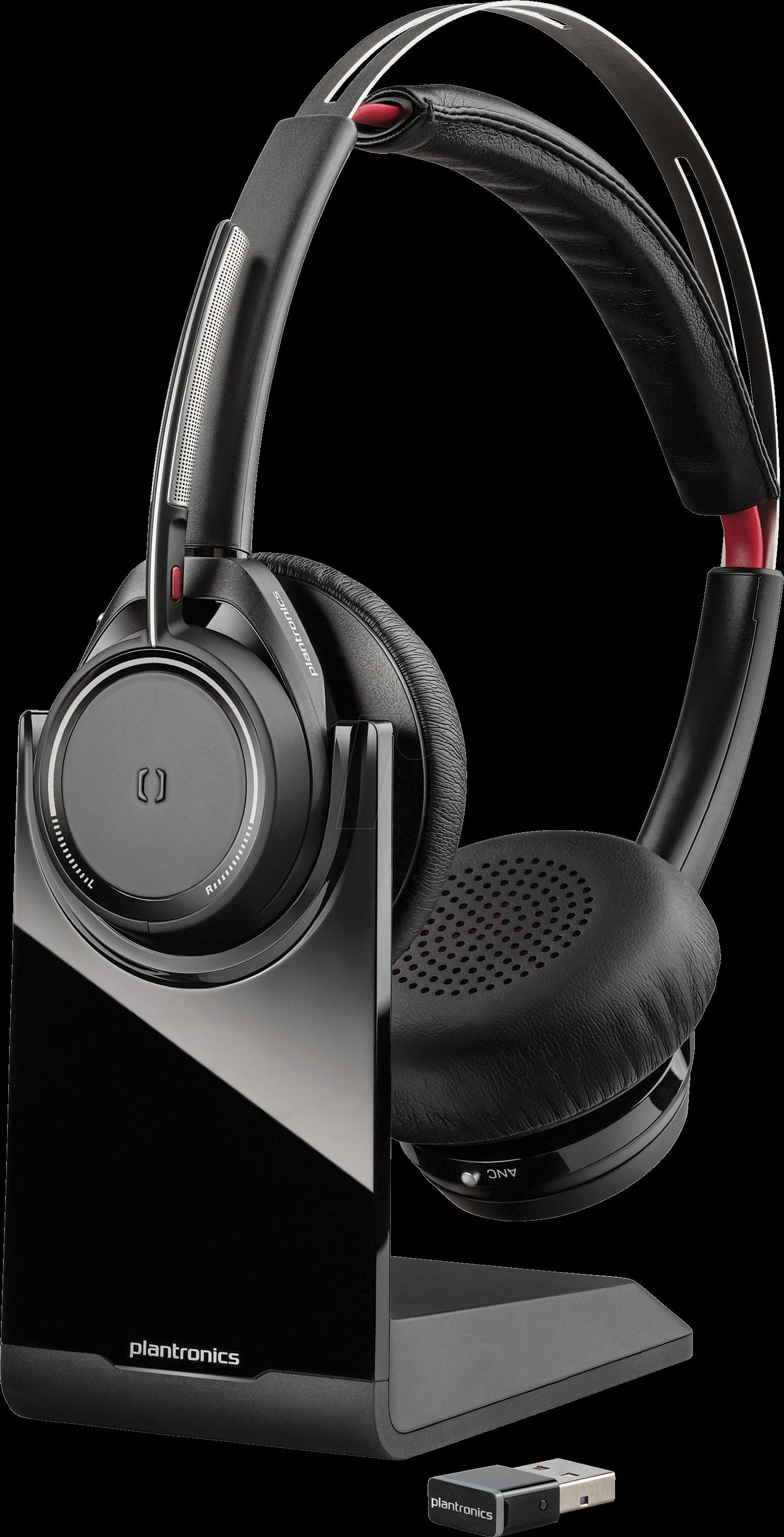 PLAN VF B825 - Headset, Bluetooth, Stereo, Voyager Focus B825