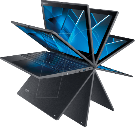 ACER VN1EG.002 - Laptop, Travelmate Spin B3, Touch-Display, Windows 10 Pro
