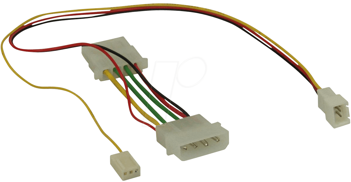 ADAPTER_4_3_7V_01 adapter 4 3 7v 4 pin to 3 pin (molex) 7 volt adapter cable at
