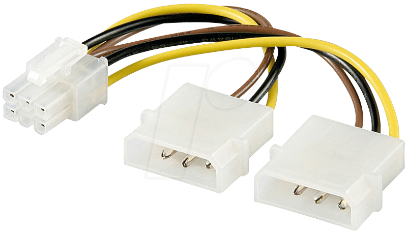 AD PA010 - Poweradapter für PCI Express Grafikkarten