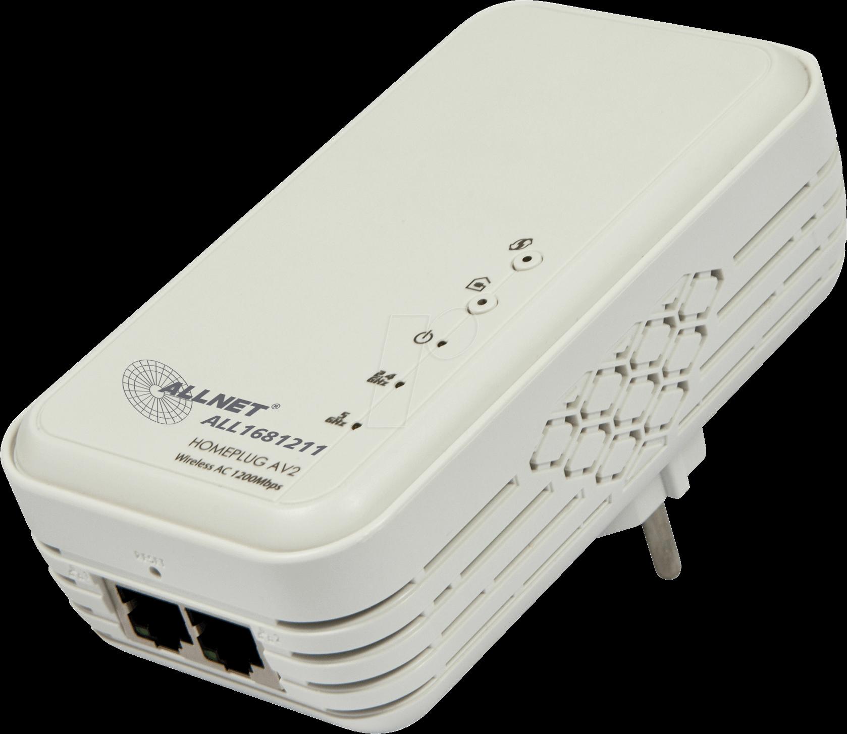 ALLNET 1681211 - ALLNET 1200 MBit/s adapter (1 unit)