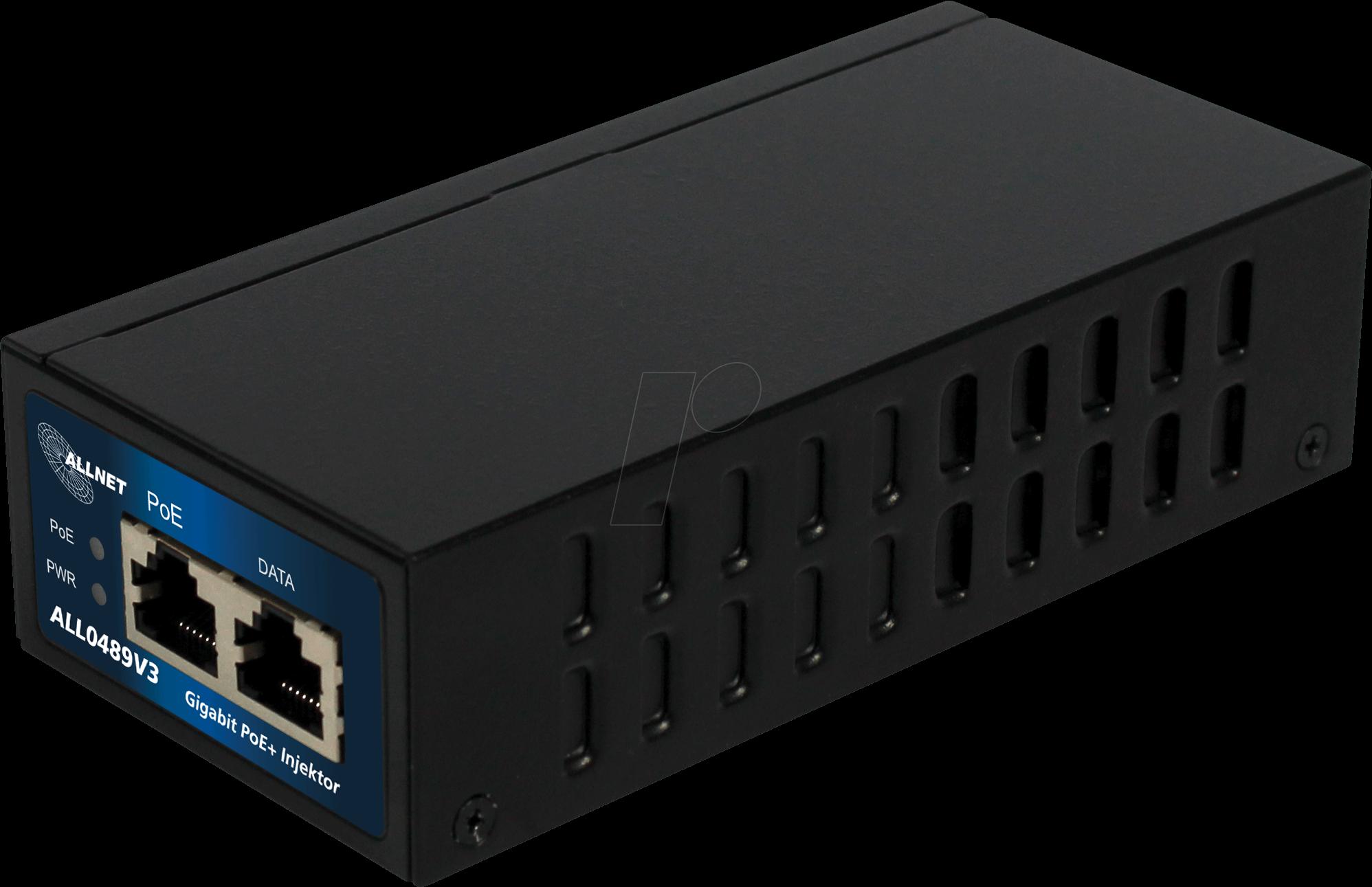 ALLNET ALL0489V3 - Power over Ethernet (POE) Gigabit injector