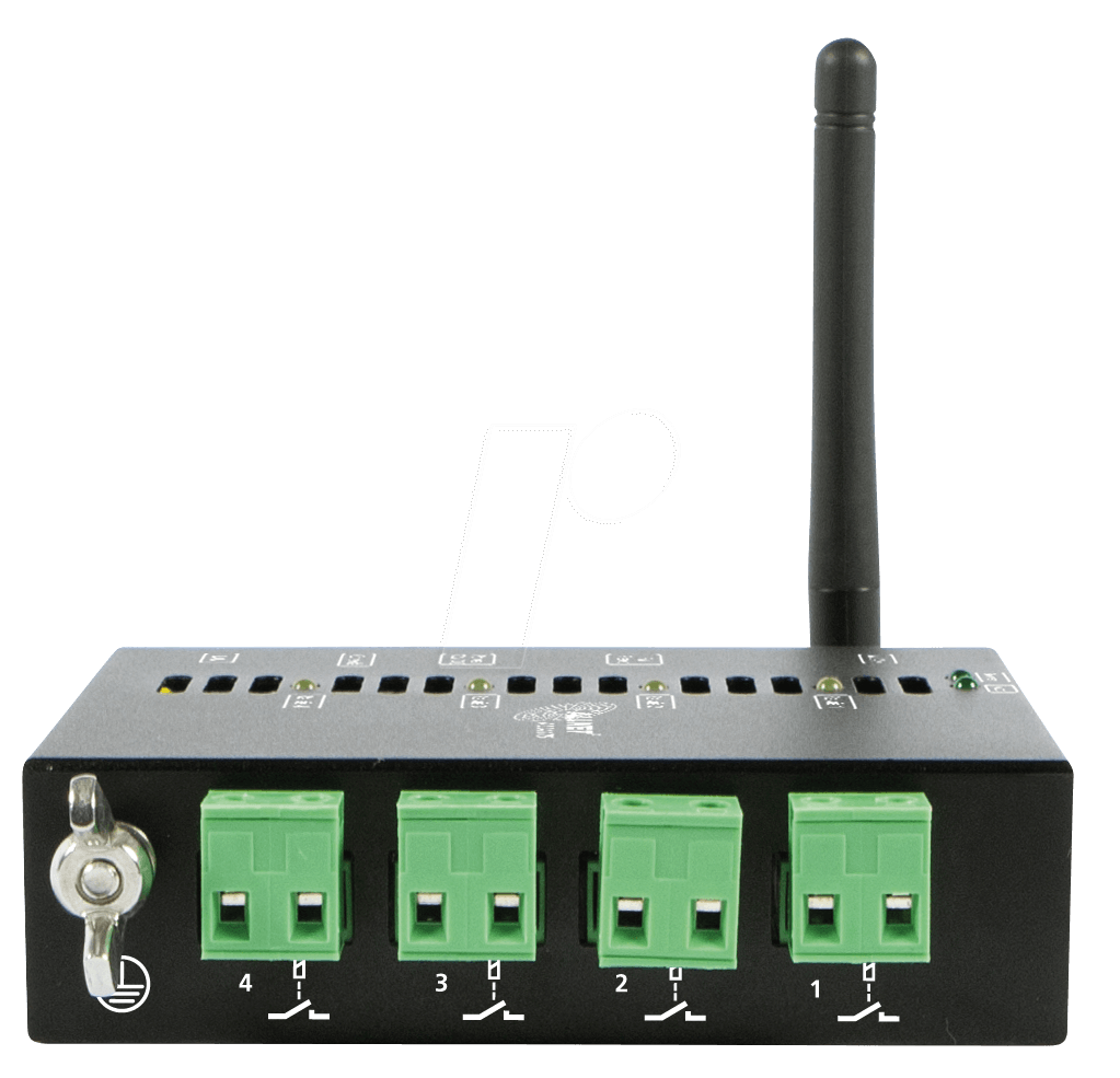 Allnet All4175 Lan Wlan Network Relay 4 Way 220 V 10 A At Switch