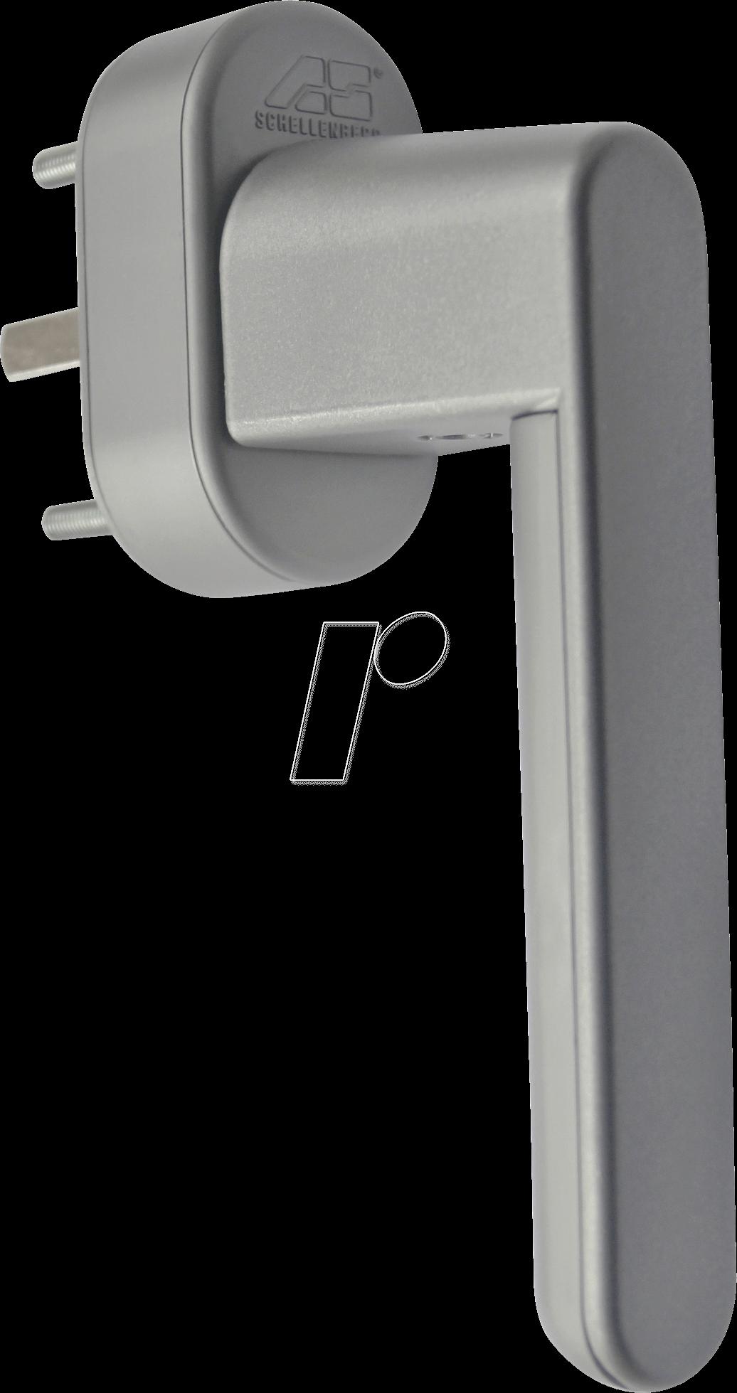 as 46509 fenstergriff mit alarm silber 37mm bei reichelt elektronik. Black Bedroom Furniture Sets. Home Design Ideas