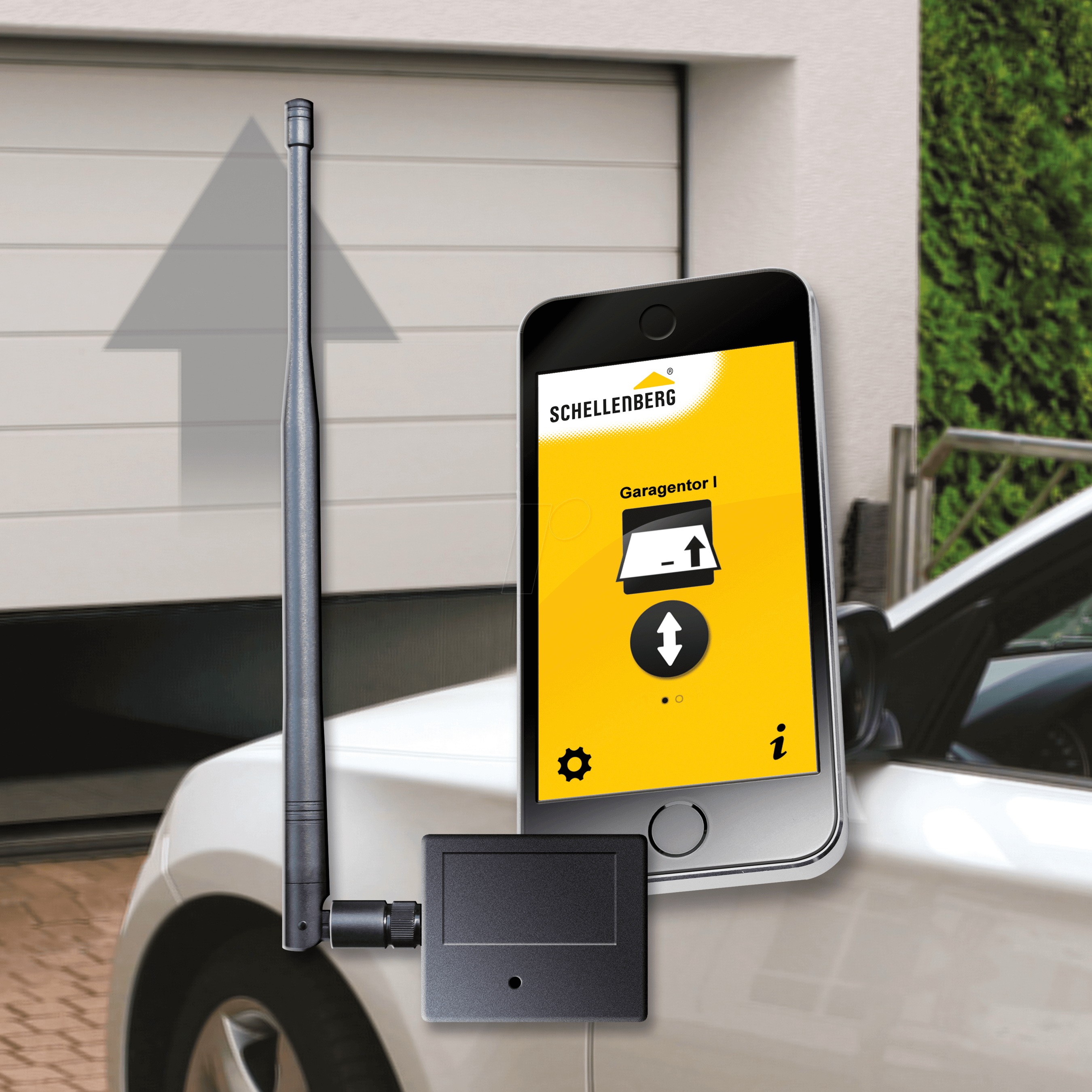 As 60998 Smart Garage Door Opener Plus Bei Reichelt Elektronik