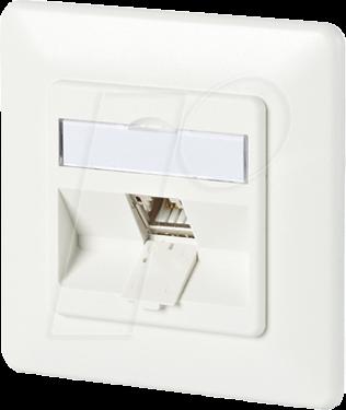 btr 130b11d11002 netzwerkdose cat 6a 1 port 180 m up reinwei bei reichelt elektronik. Black Bedroom Furniture Sets. Home Design Ideas