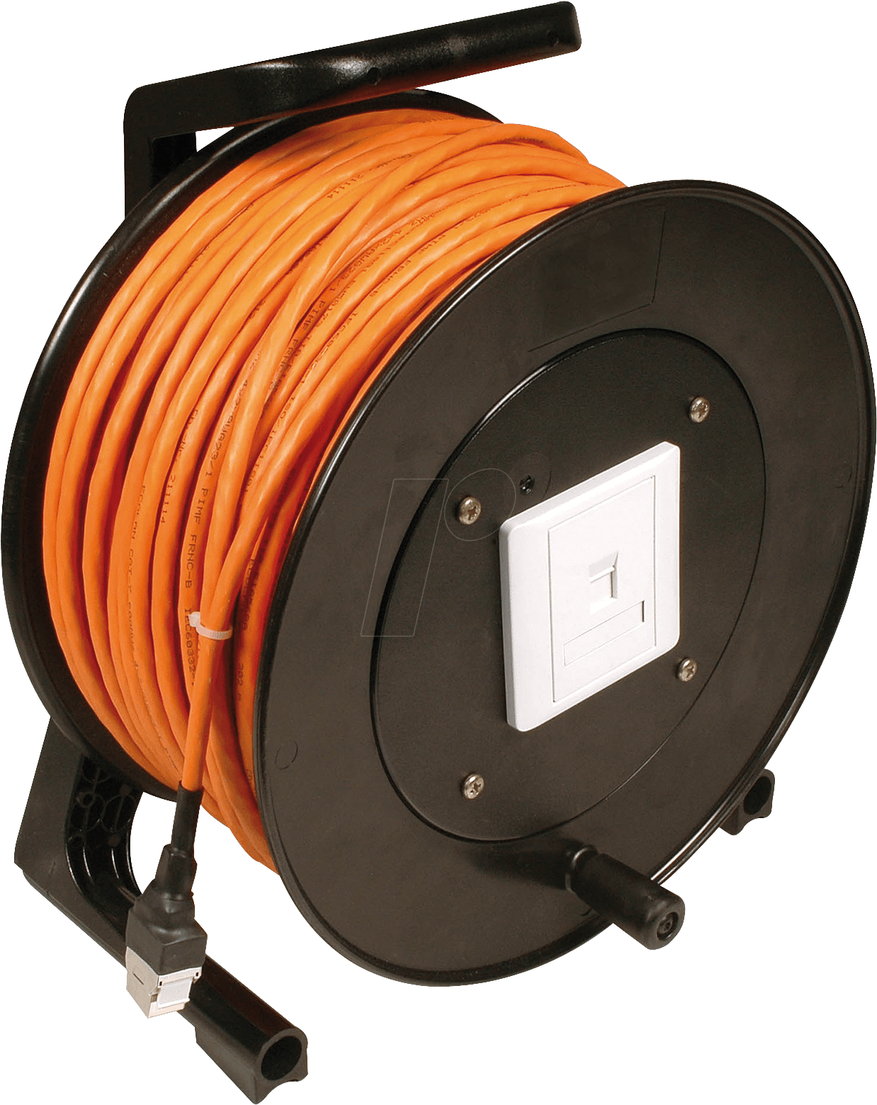 Cat6 Trommel 50m Installation Cable Reel 50 M At Reichelt Wiring Frei