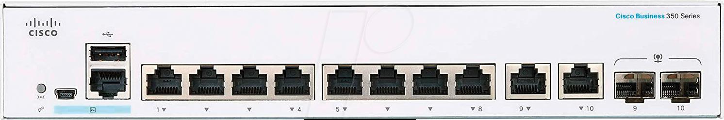 CISCO C3508TE2G: Switch, 10-Port, Gigabit Ethernet, RJ45 - SFP at reichelt elektronik