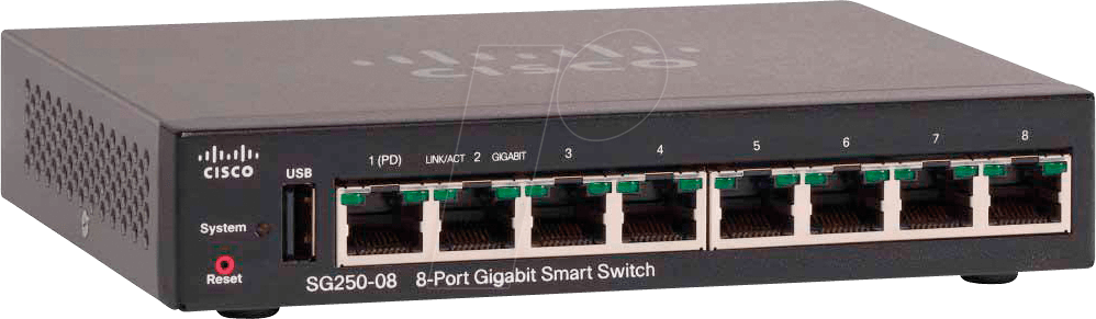 Image of Cisco 250 Series SG250-08