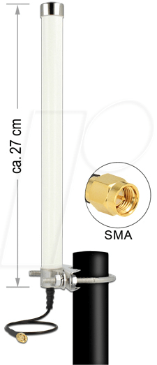 DELOCK 12433 - Antenne LTE SMA Stecker