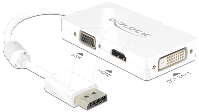 Cable adaptador HDMI St  DVI DELOCK