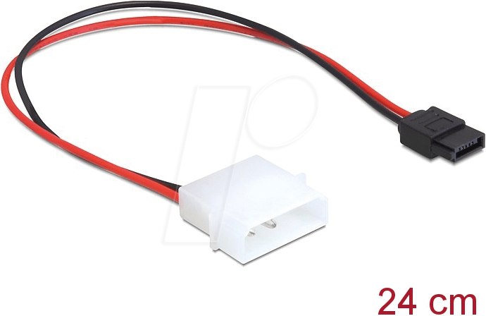 Astonishing Delock 82913 Kabel Power Molex 4 Pin Stecker Sata 6 Pin Buchse 24 Wiring Cloud Hisonuggs Outletorg