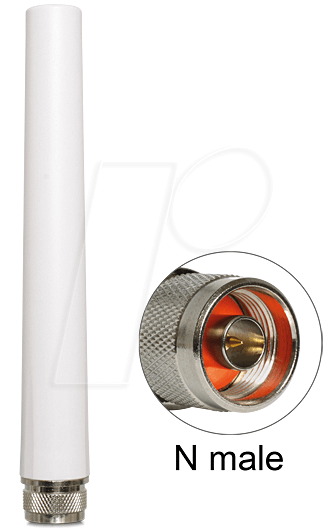 DELOCK 88452 - WLAN Antenne, N Stecker