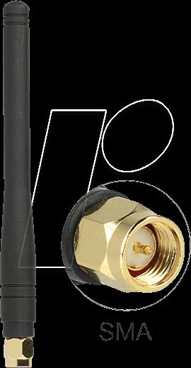 DELOCK 88914 - ISM Antenne, SMA Stecker