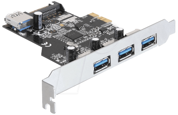 89301 - PCI Express Card>3 x extern + 1 x intern USB 3.0