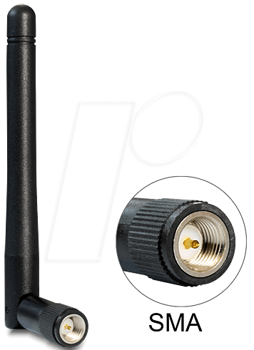 DELOCK 89437 - WLAN Antenne, SMA Stecker