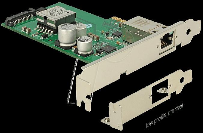 89594 - PCI Express Karte > 1 Gigabit LAN PoE+ RJ45