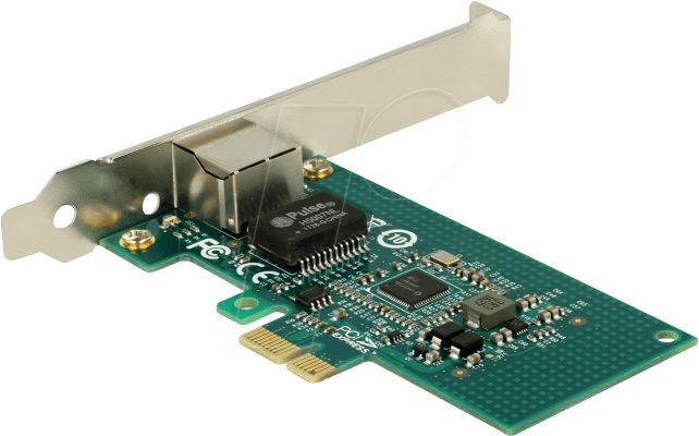 DELOCK 89942 - NIC, PCI Express, 1x Gigabit Ethernet