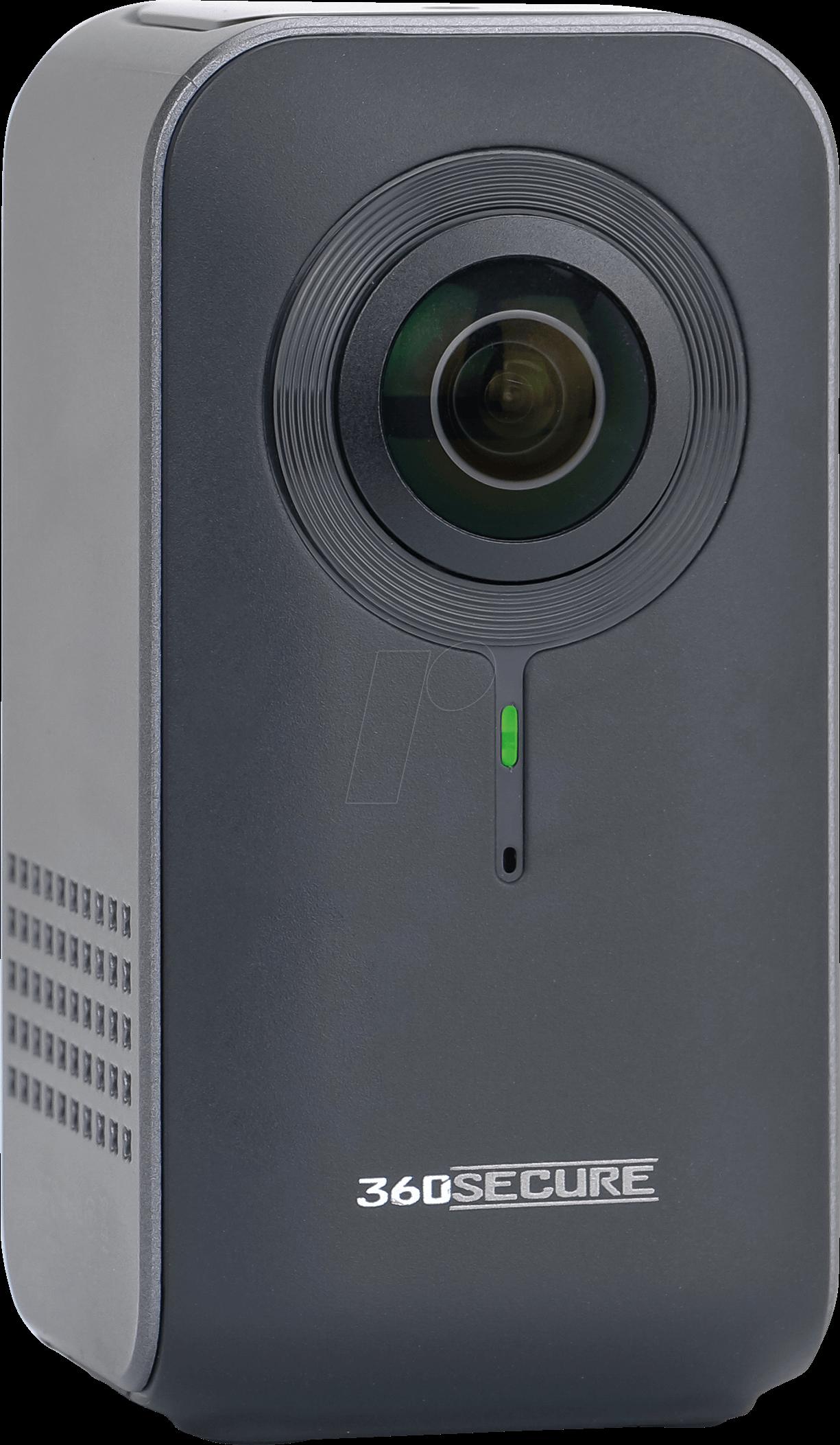 dnt 52190 berwachungskamera 360secure ip wlan innen bei reichelt elektronik. Black Bedroom Furniture Sets. Home Design Ideas