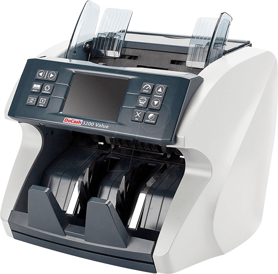 DOCASH 3200VALUE - Cash register banknote counter with counterfeit detection