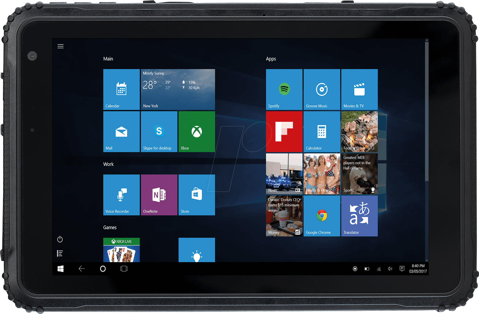 CAT T20 - Tablet, T20, Outdoor, 8´´, LTE, Windo...