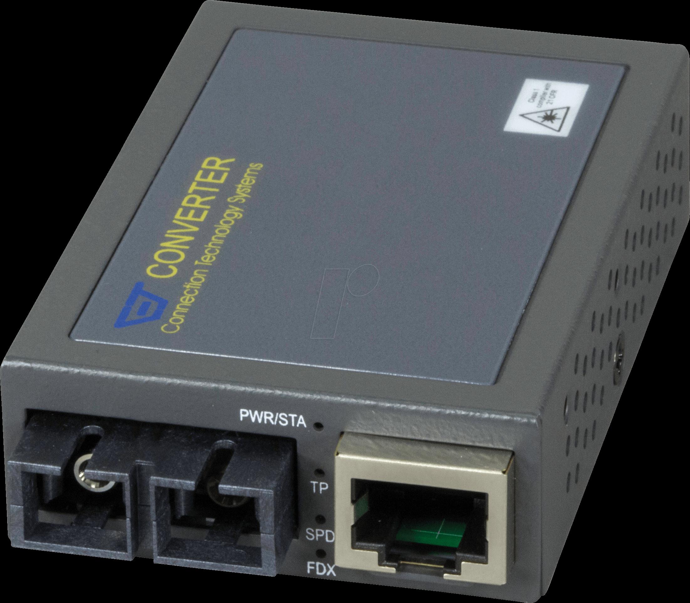 CTS 100BTFC-SM30 - Medienkonverter, Fast Ethernet, SC, Singlemode