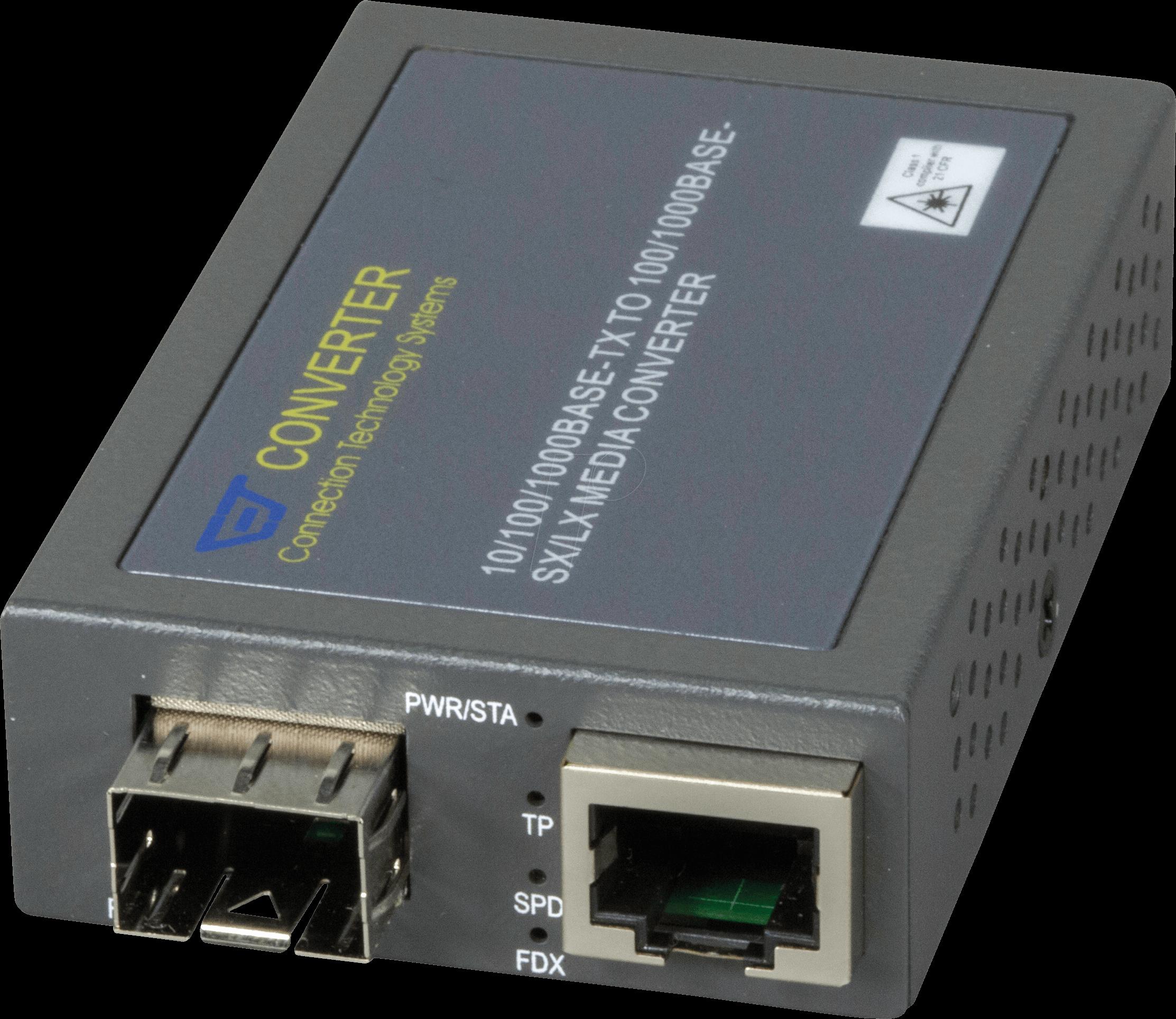 CTS 3002SFP-DR - Medienkonverter, Gigabit Ethernet, SFP