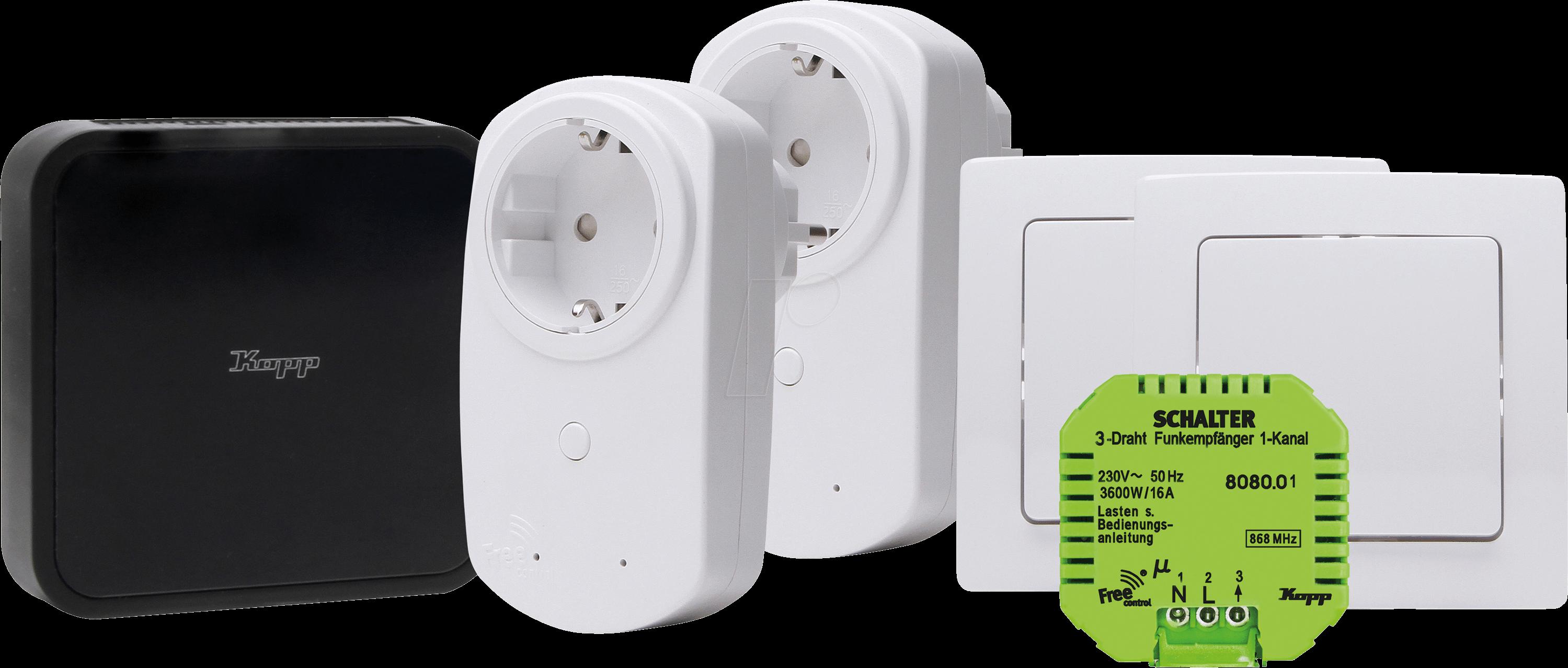 FREE-C 992000001: Starterkit Licht- und Gerätesteuerung bei reichelt ...