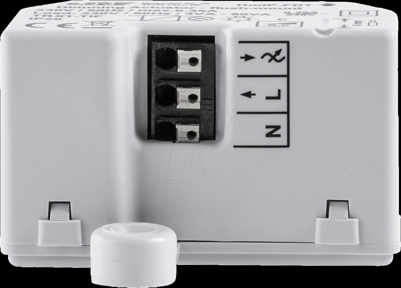 hmip fdt dimmaktor unterputz bei reichelt elektronik. Black Bedroom Furniture Sets. Home Design Ideas